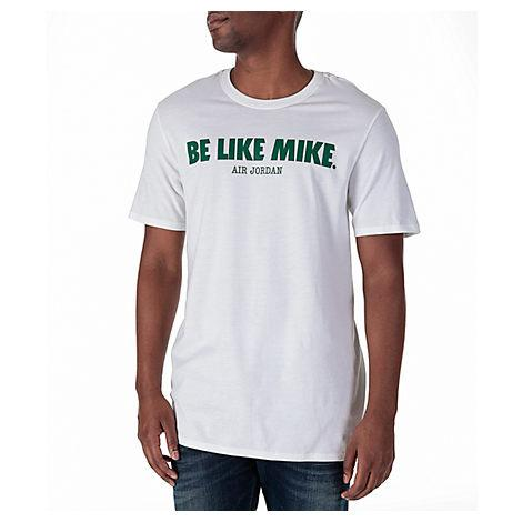 0bae300d Nike Men's Air Jordan 6 'Be Like Mike' T-Shirt, White | ModeSens