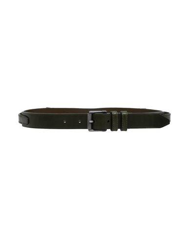 Belstaff Thin Belt In Military Green