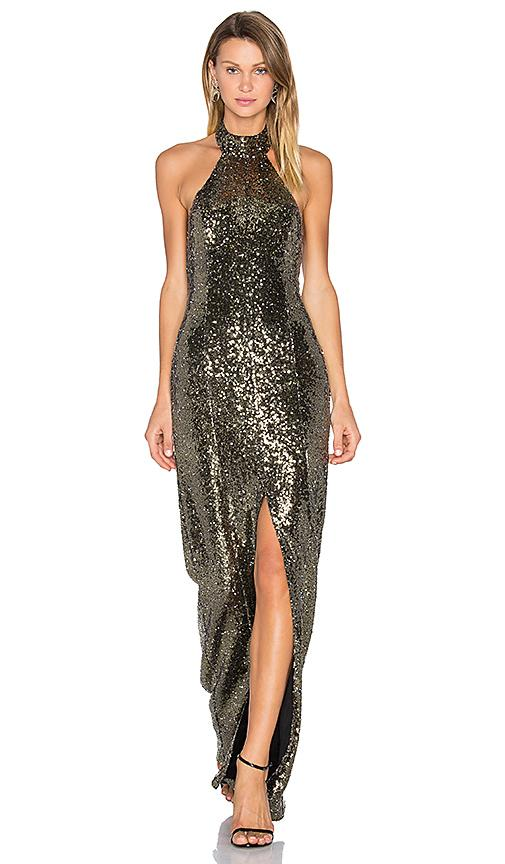 d826ca72c9c House Of Harlow 1960 X Revolve Diana Maxi In Gold