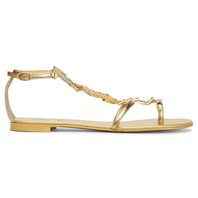 Giuseppe Zanotti Skorpion Sandals In Gold