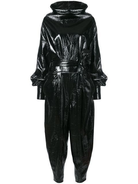 Wanda Nylon Vinyl Jumpsuit