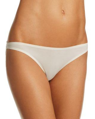 Stella Mccartney Smooth & Lace Bikini In Ivory
