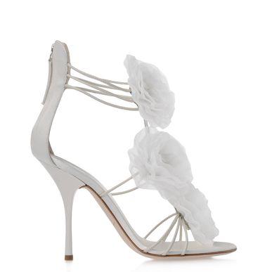 Giuseppe Zanotti E20161 001 Sandals In Ivory