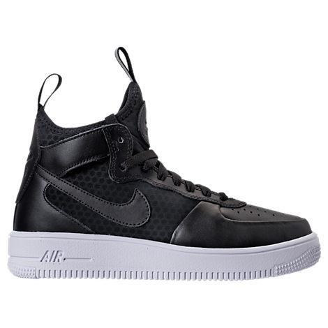 finest selection d714c 647ab Nike Women s Air Force 1 Ultraforce Mid Casual Shoes, Black