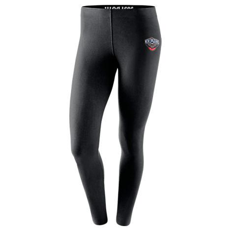 latest fashion retail prices brand new Women's New Orleans Pelicans Nba Leg-A-See Tights, Black