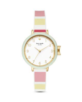 Kate Spade Park Row Silicone Strap Watch, 34Mm In Multi