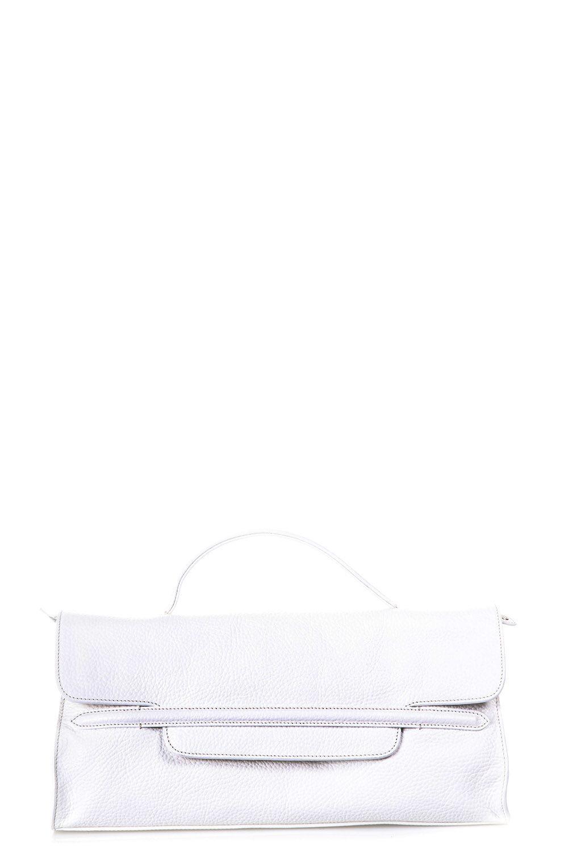 Zanellato Leather Hand Bag In White