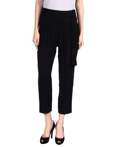 Diane Von Furstenberg Casual Pants In Black