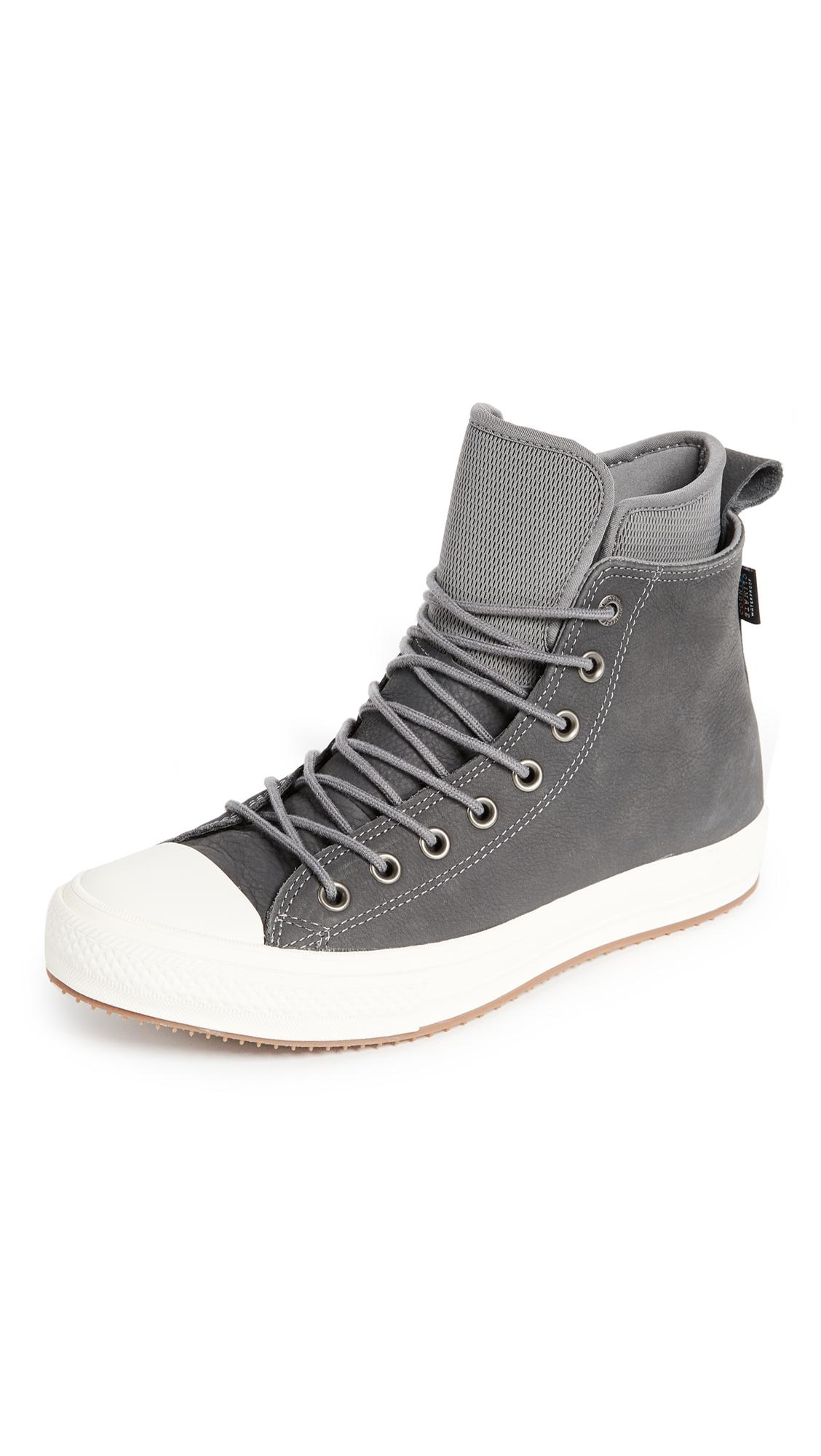 sale retailer 465e2 ffa00 Converse Men s Chuck Taylor All Star Waterproof Boot Nubuck Hi Casual  Sneakers From Finish Line In