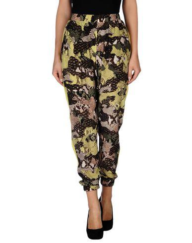 Msgm Casual Pants In Dark Brown