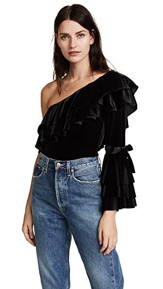 Misa Gyda Bodysuit In Black