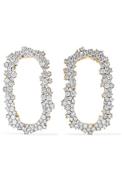 Ana Khouri Iolanda 18-karat Gold Diamond Earrings