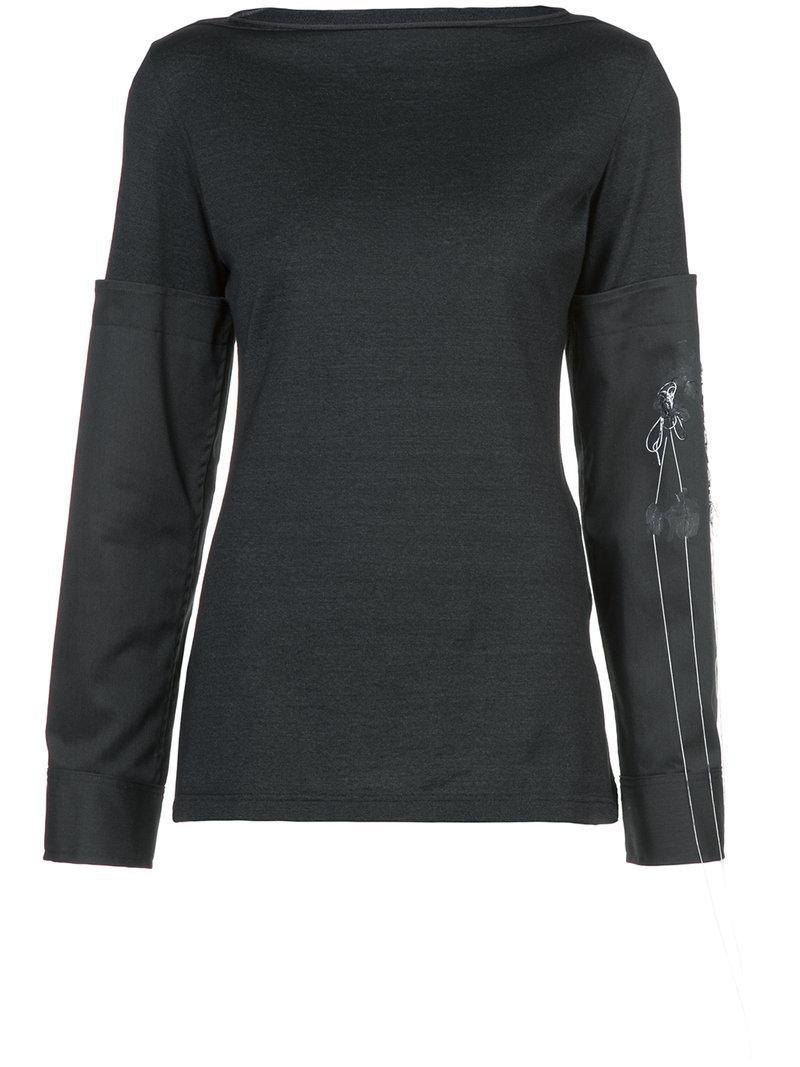Yohji Yamamoto Long Sleeved T-shirt