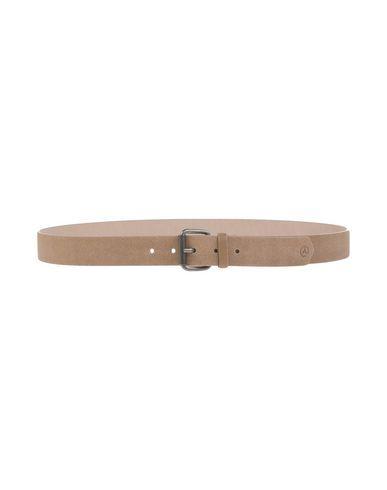 Álvaro GonzÁlez Leather Belt In Khaki