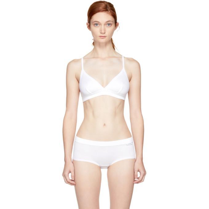 Calvin Klein 205w39nyc White Concept Authentic Story Bra