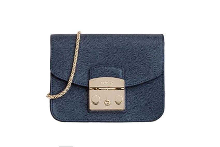 Furla Metropolis Mini Bag In Blue