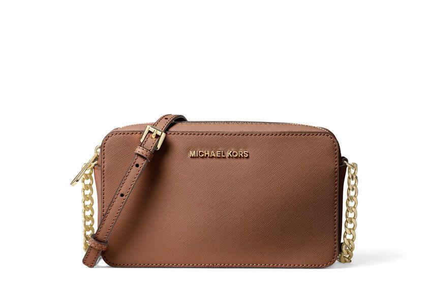 Michael Michael Kors Jet Set Travel Xbody Bag In Leather