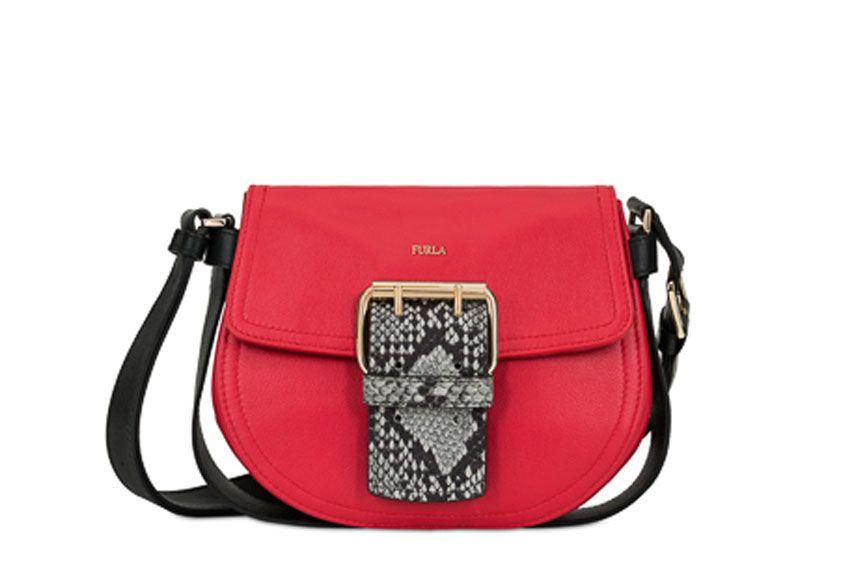Furla Hashtag S Bag In Red