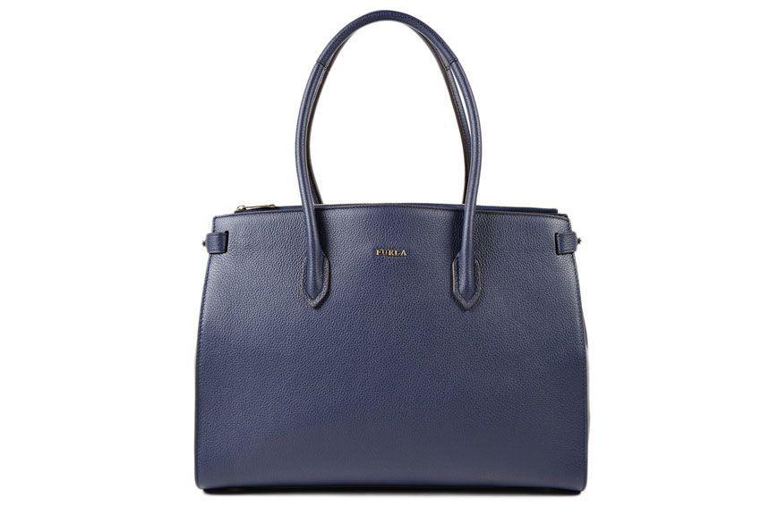 Furla Pin M Bag In Blue
