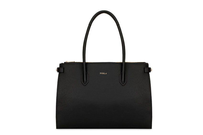 Furla Pin M Bag In Black