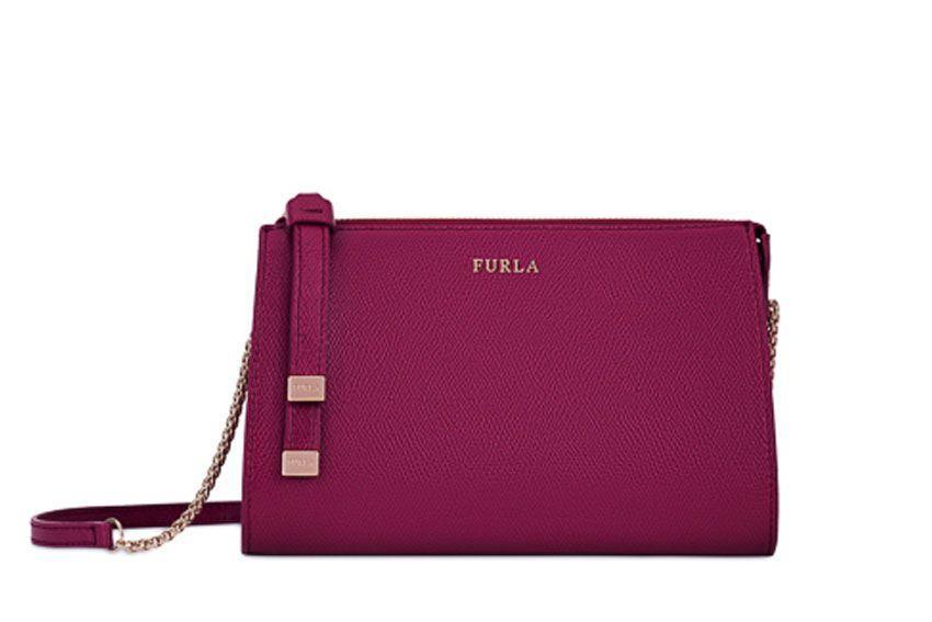 Furla Luna Xl Bag In Red