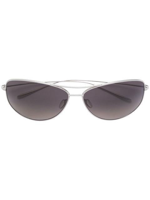 Oliver Peoples 'kempner 65' Sonnenbrille - Metallisch