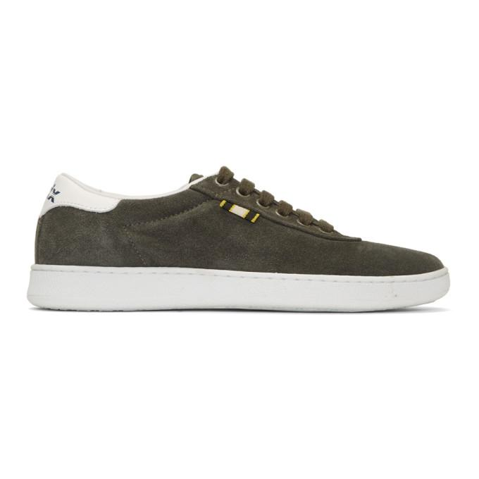 Aprix Grey Apr-002 Sneakers In Dark Olive
