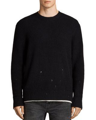 Allsaints Ivann Sweater In Black