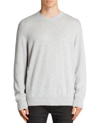 Allsaints Blake Sweater In Light Gray