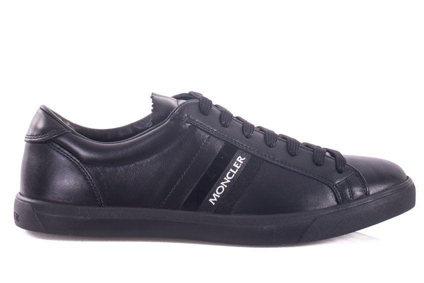 Moncler Sneakers La Monaco In Black
