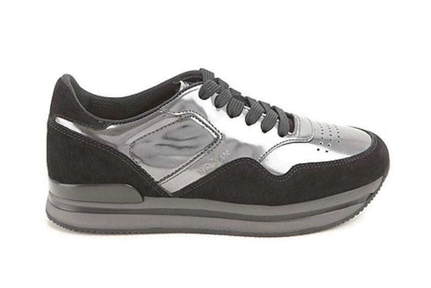 Hogan Sneakers H222 In Black