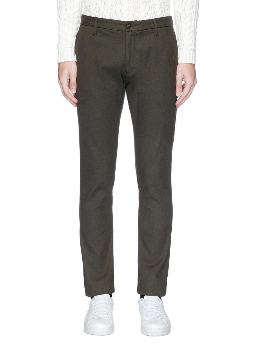 Armani Collezioni Cotton Pants