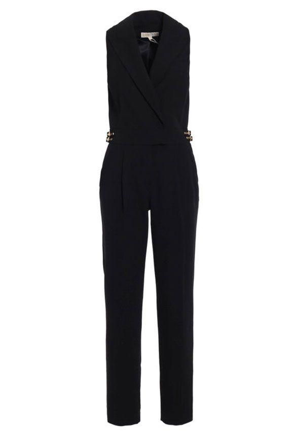 Michael Michael Kors Sleeveless Dress In Black