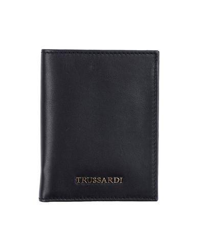Trussardi Document Holders In Black