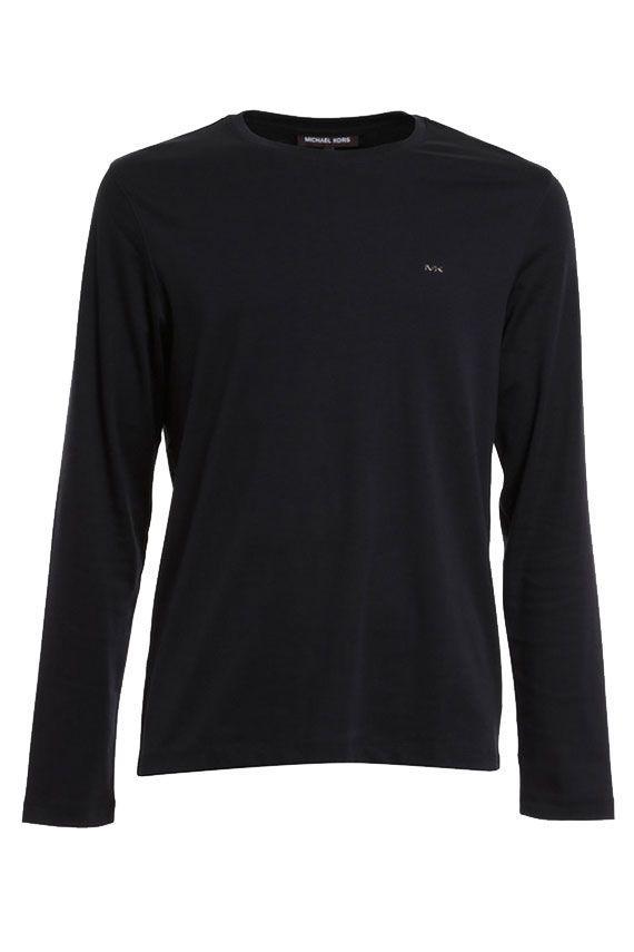 Michael Michael Kors T-shirt Long Sleeves In Black