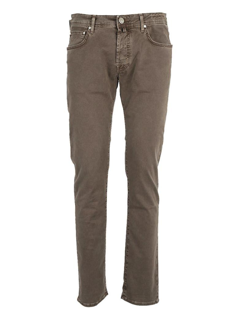 Jacob Cohen Classic Fitted Jeans In Moro