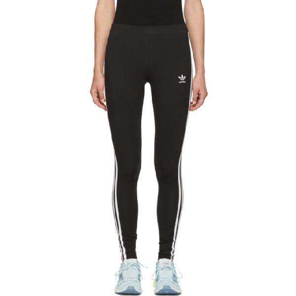 f1b7ab1fc6a Adidas Originals Women's Originals Trefoil 3-Stripes Leggings, Black ...