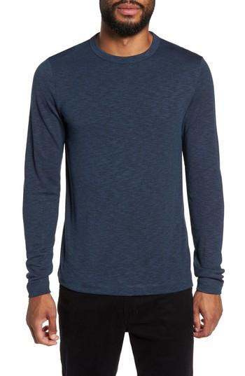 Theory Long Sleeve T-shirt In River Multi