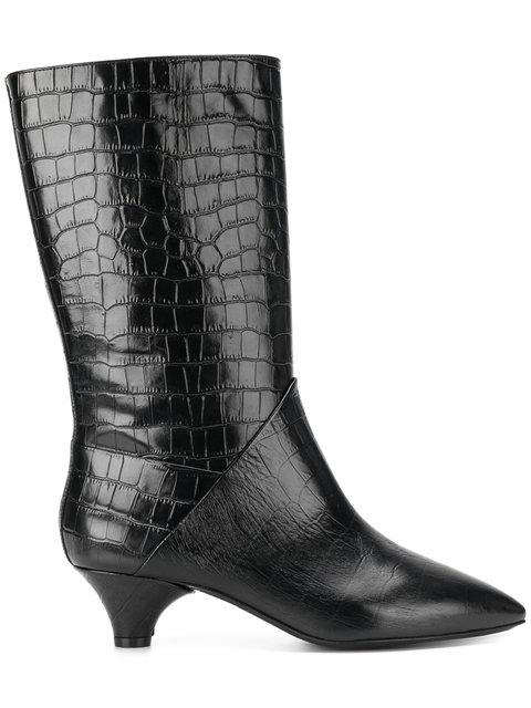 Marni Crocodile In Black