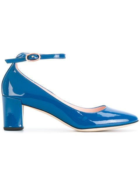 Repetto Ankle Strap Pumps In Blue