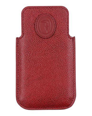 Trussardi Iphone 5/5s/se Cover In Maroon