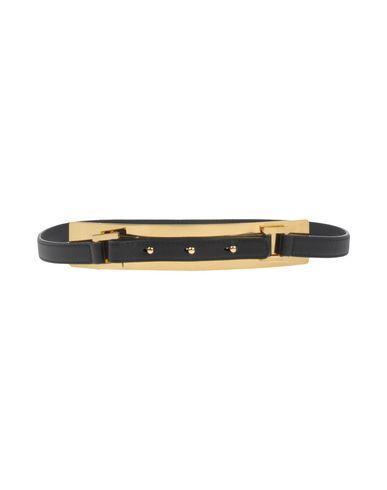 Elie Saab Thin Belt In Black