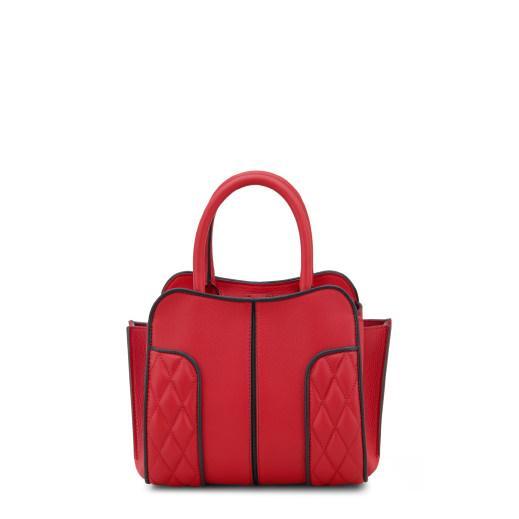 Tod's Sella Bag Mini In Red/black