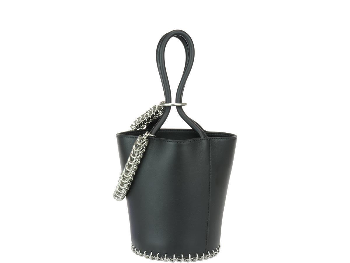 Alexander Wang Mini Roxy Bucket Bag In Black