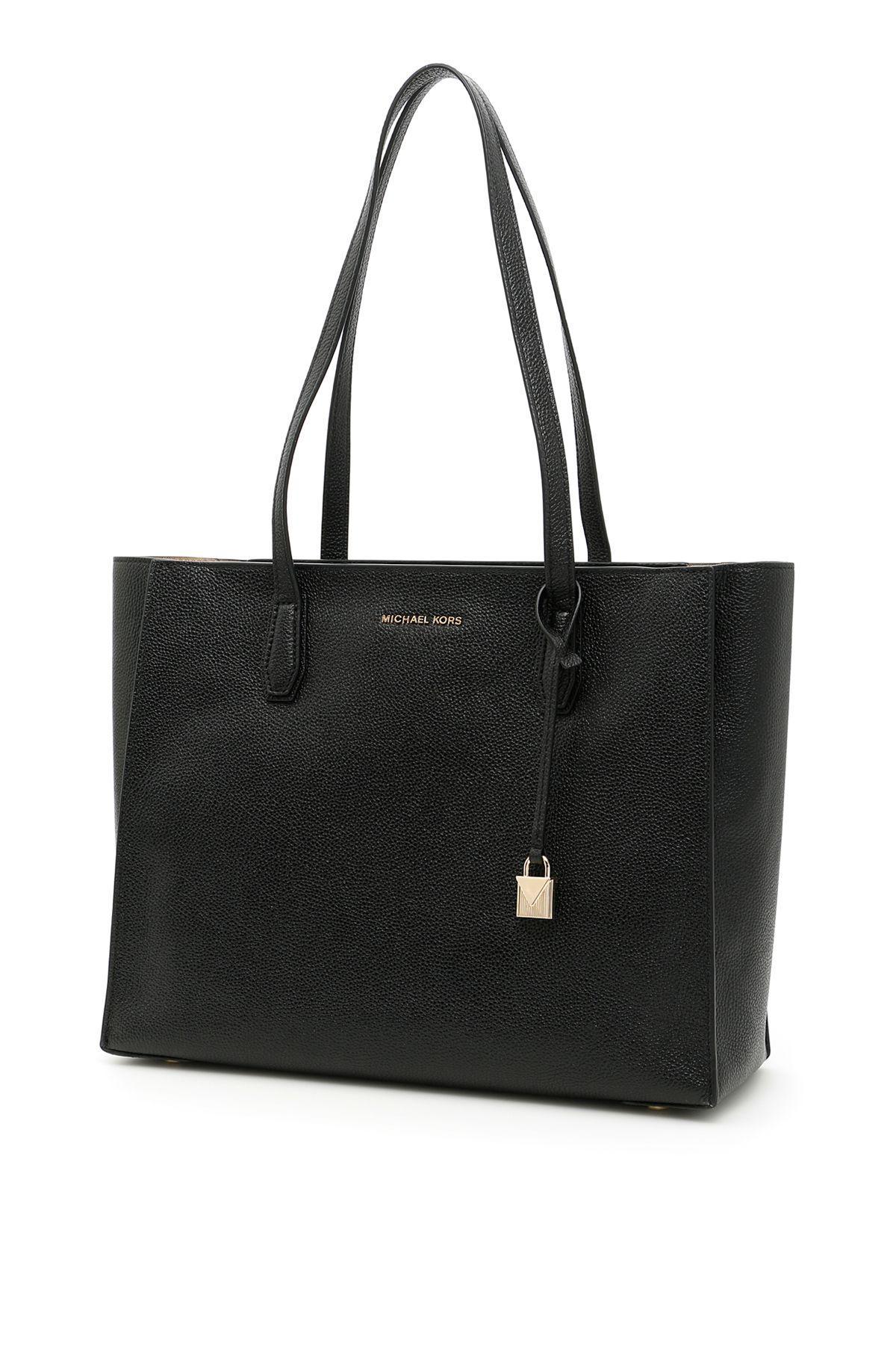 Michael Michael Kors Mercer Tote Bag In Blacknero