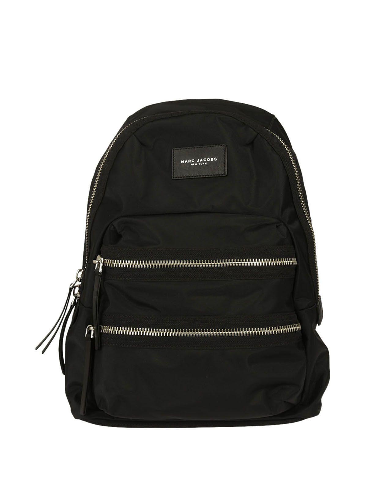 Marc Jacobs Biker Backpack In Black