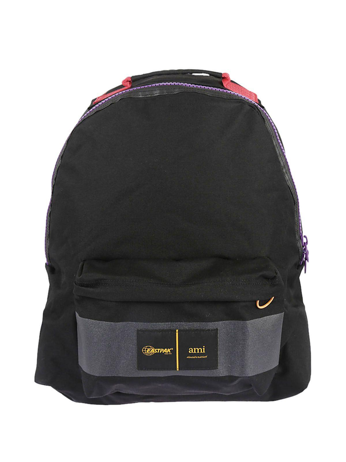 Ami Alexandre Mattiussi Ami X Eastpak Backpack In Multicolor