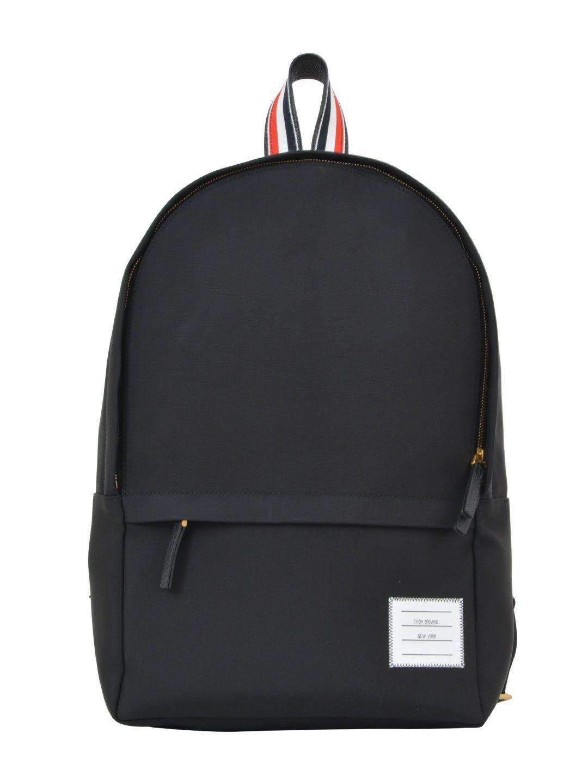 Thom Browne Black Backpack