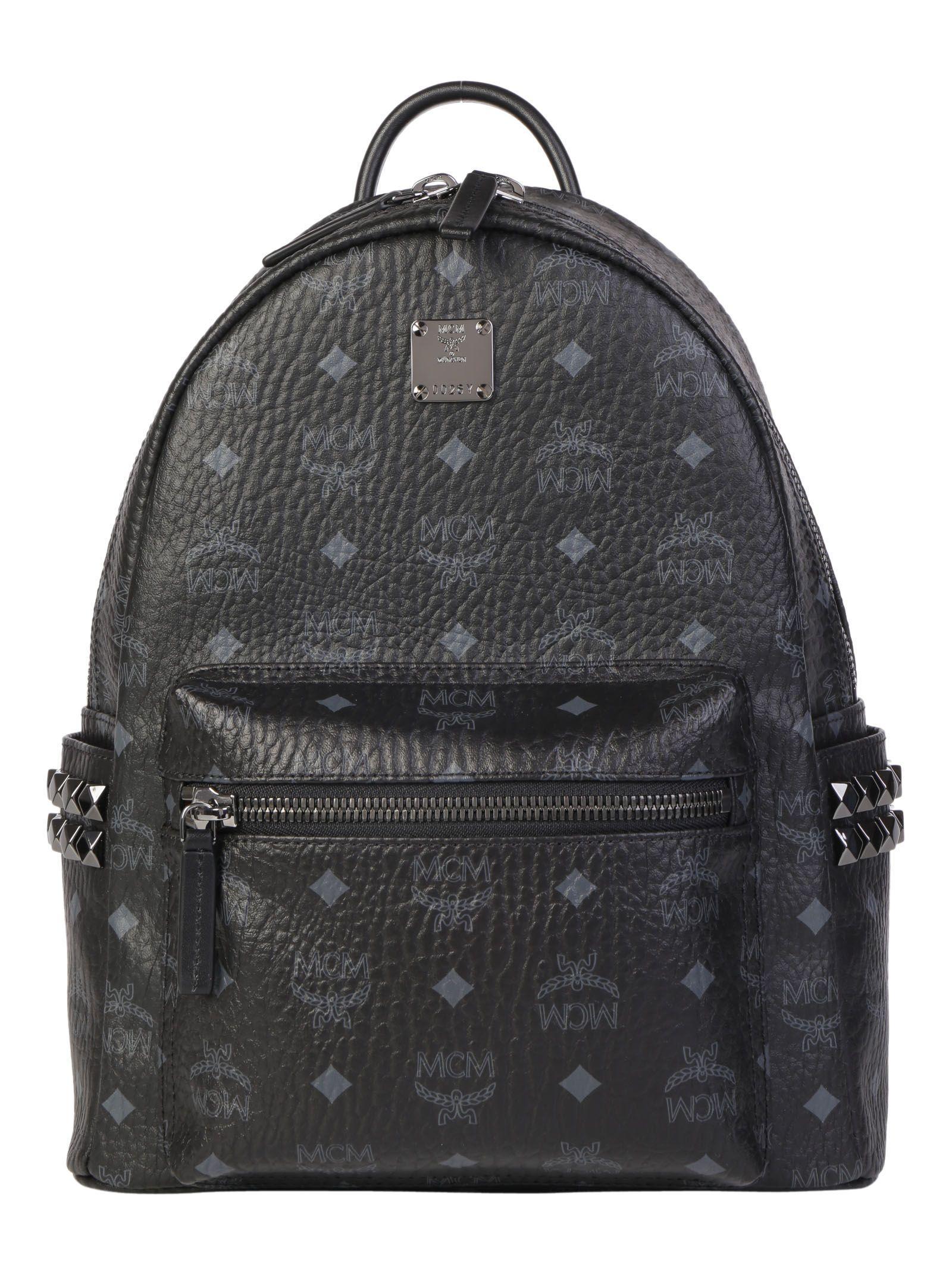 Mcm Start Backpack In Black