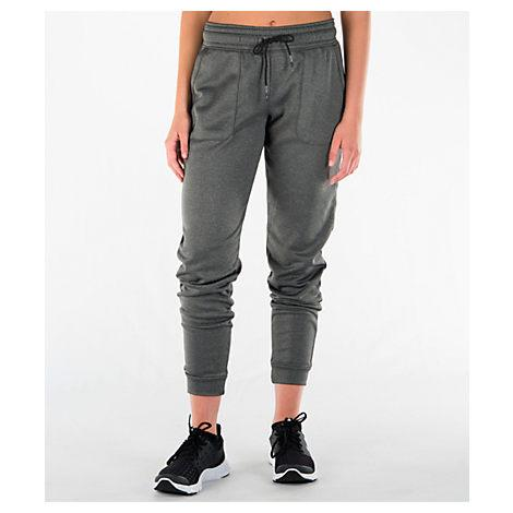 Under Armour Women's Favorite Lightweight Fleece Jogger Pants, Grey